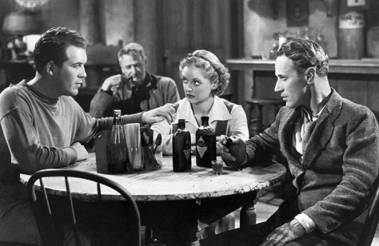 The Petrified Forest (1936) Dick Foran, Bette Davis, Leslie Howard