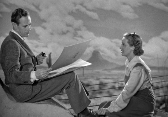 The Petrified Forest (1936) Leslie Howard Bette Davis