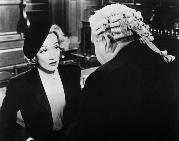 Witness for the Prosecution Marlene Dietrich Charles Laughton