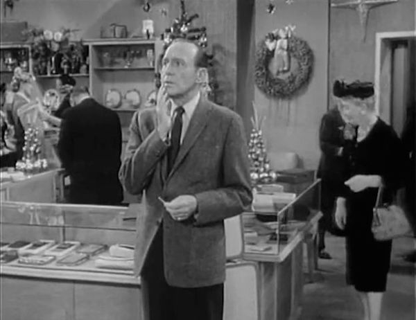 jack benny show Christmas Shopping show