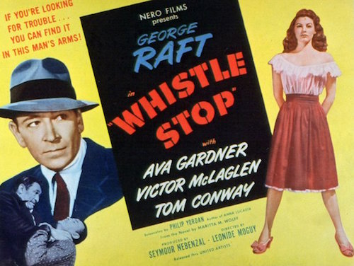 whistle stop poster