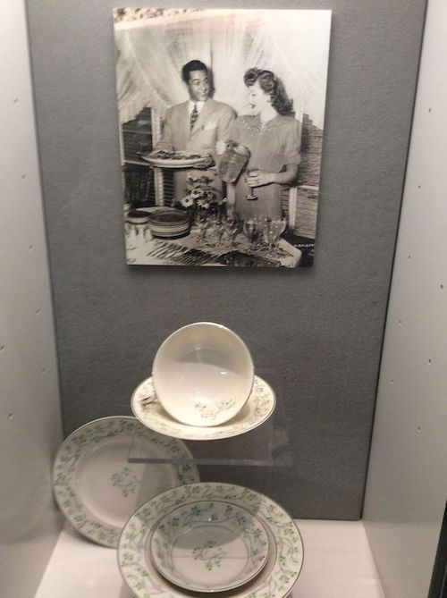 A few pieces of Lucy & Desi's personal china