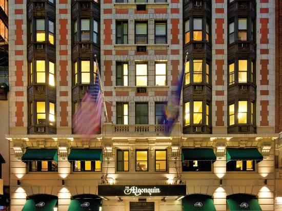 Algonquin Hotel, 59 W 44th St., New York, NY