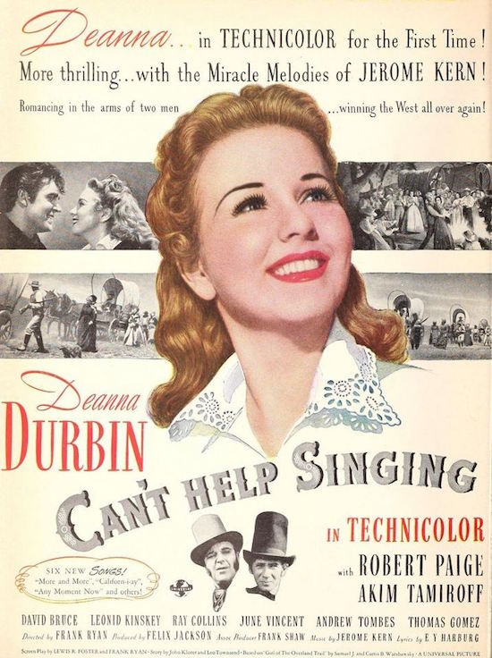 Cant Help Singing Poster 3