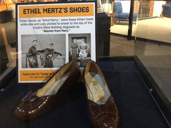 Ethel wore these for the Women From Mars episode