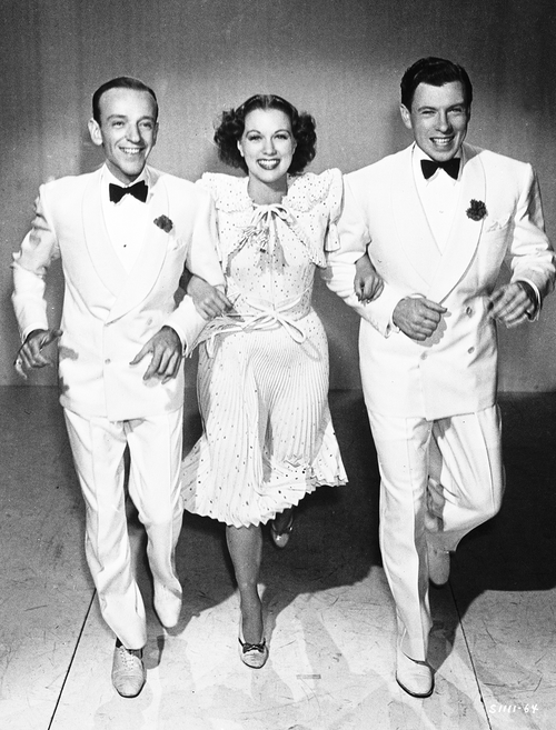 Fred Astaire, Eleanor Powell and George Murphy in Broadway Melody of 1940