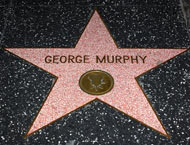 George Murphy's Walk of Fame Star