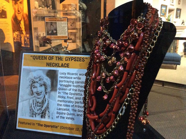 I Love Lucy, Lucille Ball's Queen of the Gypsy's necklace