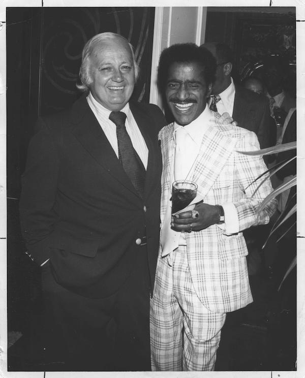 James Bacon and Sammy Davis Jr