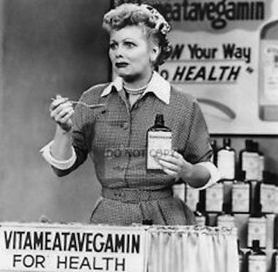 Lucille Ball Vitameatavegamin
