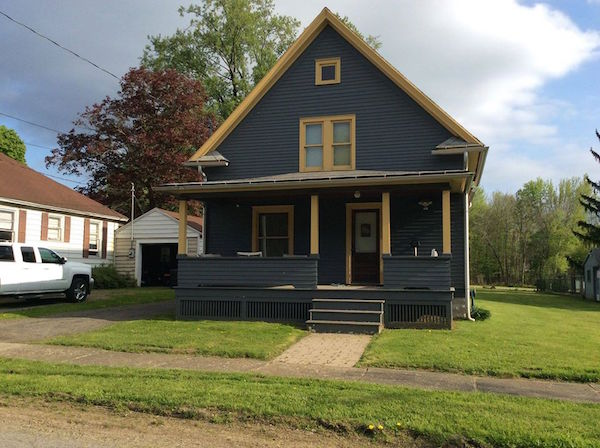Lucille Ball's childhood home childhood home located at 59 Lucy Lane Jamestown NY