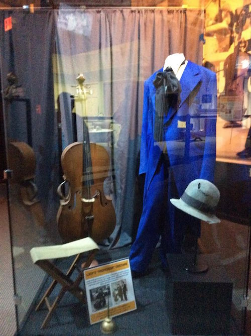 Lucy's costume for the I Love Lucy show - blue