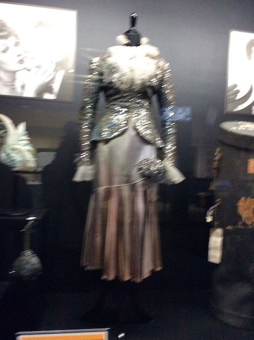 Lucy's costume for the I Love Lucy show - silver