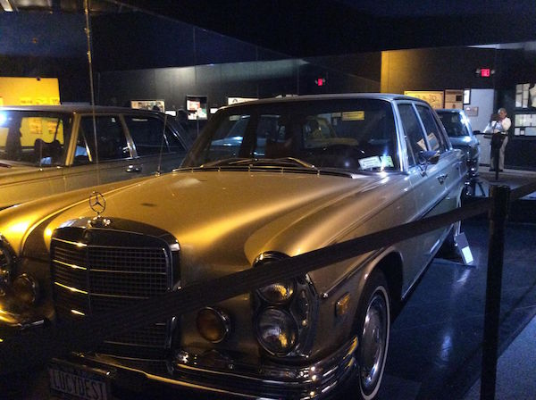 Lucy's personal 1972 Mercedes