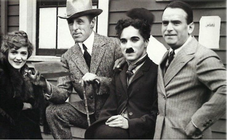 Pickford, Douglas, Chaplin, and Griffith - United Artists