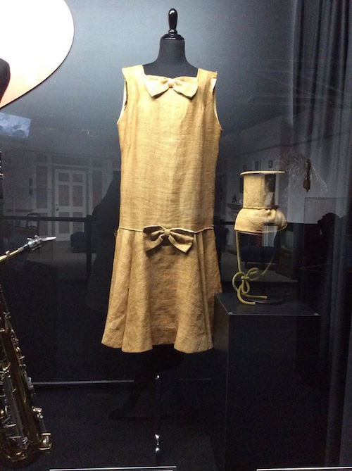 The Paris original Ricky & Fred outfits made for Lucy & Ethel out of potato sacks
