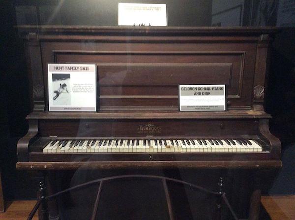 The Ricardo's piano