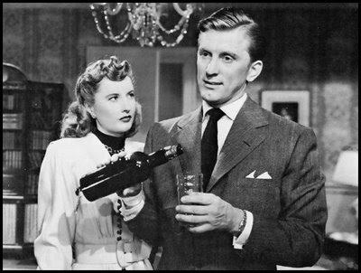 Barbara Stanwyck & Kirk Douglas in The Strange Love of Martha Ivers (1946)