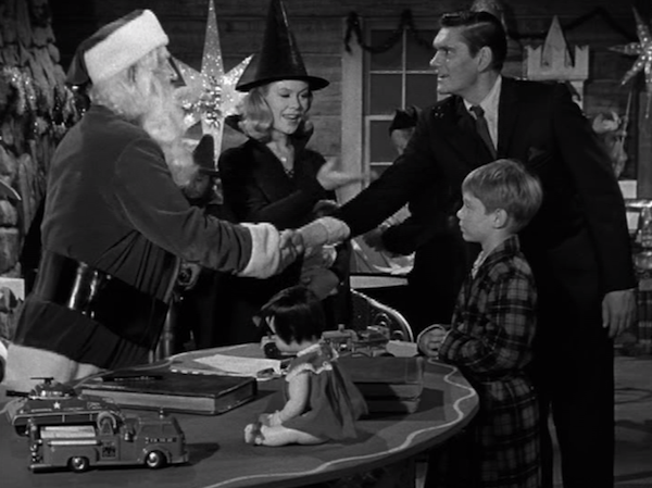 bewitched Santa Clause Christmas