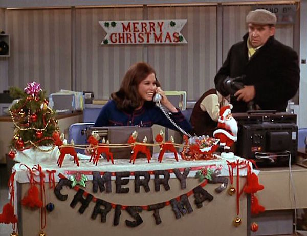 mary tyler moore show Christmas