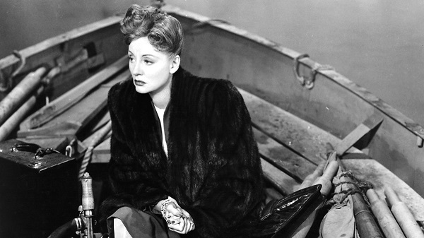 Tallulah Bankhead in Lifeboat (1944) Alfred Hitchcock