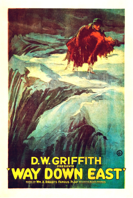 Way Down East (1920) Movie Poster