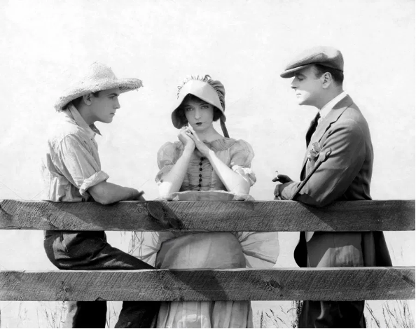 Way Down East (1920) Richard Barthelmess, Lillian Gish and Lowell Sherman