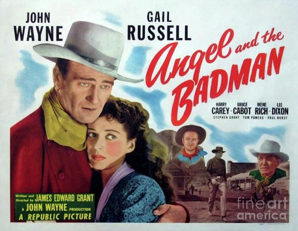 angel and the badman movie poster