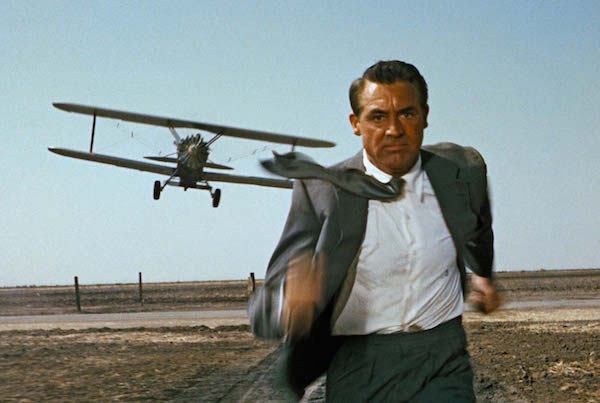 cary grant crop duster north by northwest