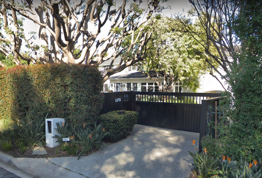 Allan Jones home 120 N. Cliffwood St., Los Angeles, California