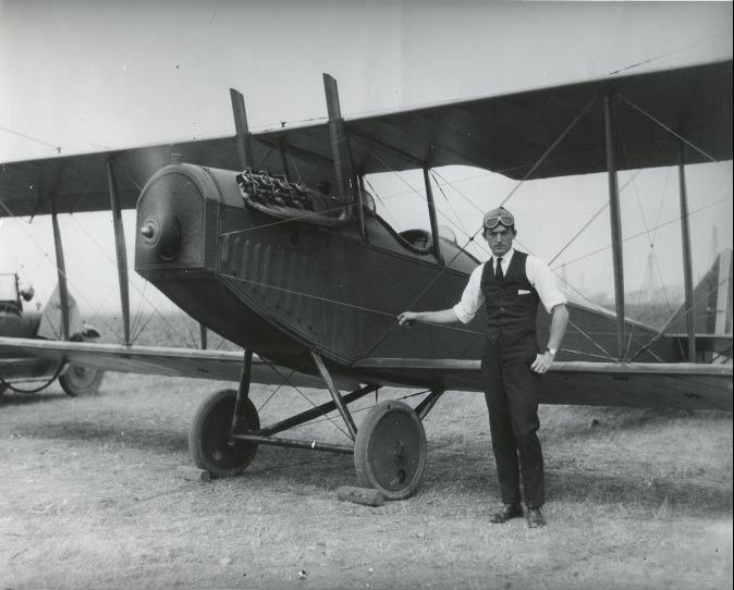 Leo Nomis Plane Stuntman