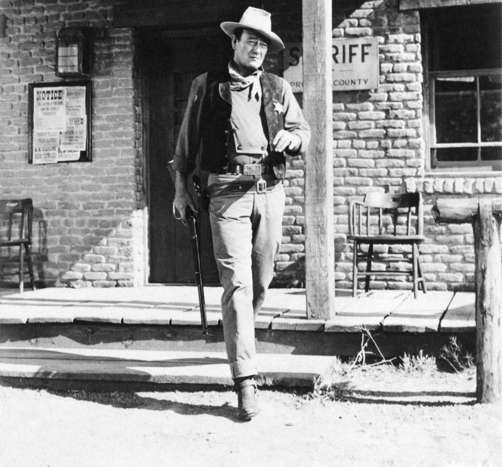 Rio Bravo (1959) John Wayne as Sheriff John T. Chance