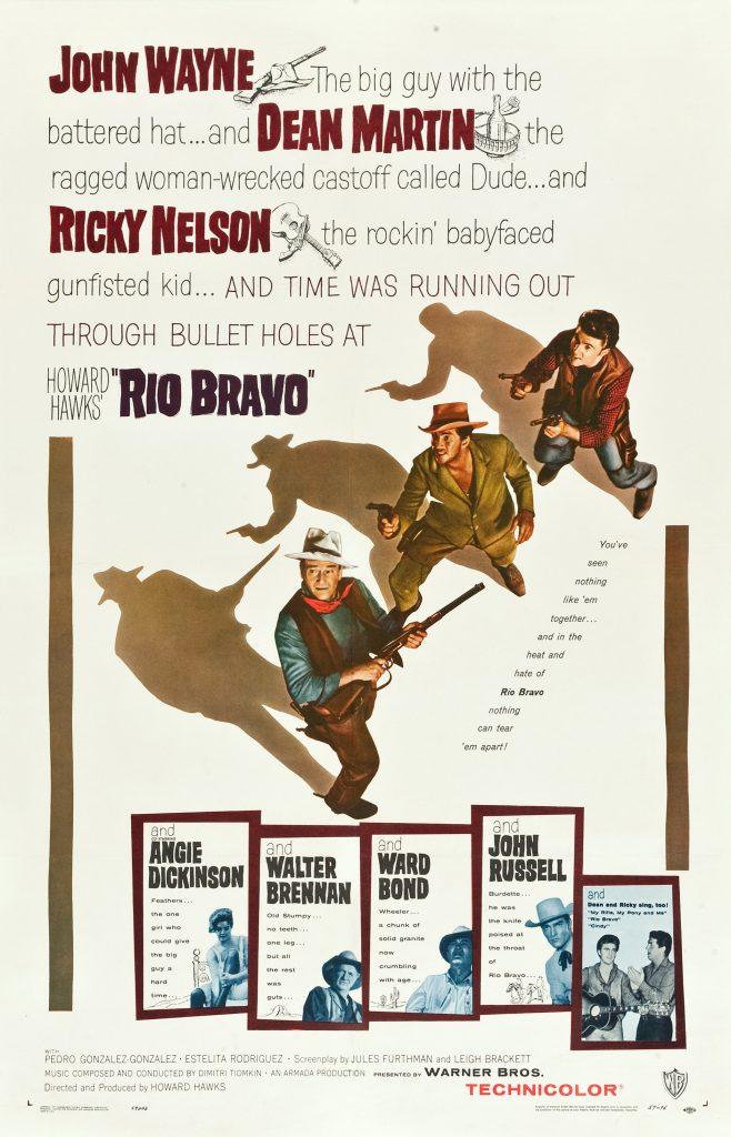 Rio Bravo (1959) Movie Poster