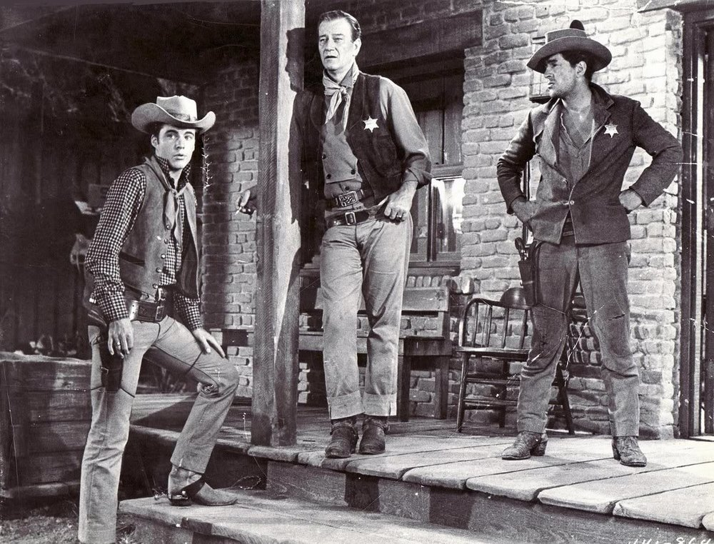 Ricky Nelson, John Wayne, and Dean Martin Rio Bravo (1959)