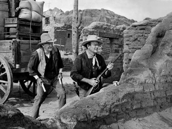 Walter Brennan & John Wayne Rio Bravo (1959)