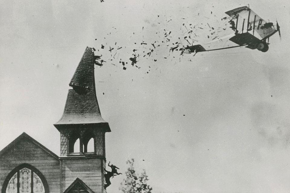The Skywayman (1920) Ormer Locklear Stunt Plane