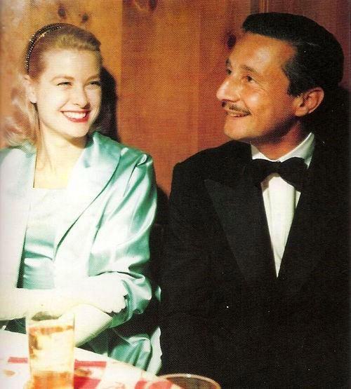 Grace Kelly and boyfriend Oleg Cassini