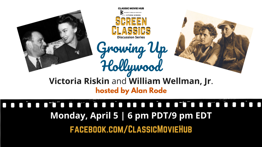 Growing Up Hollywood FB Event