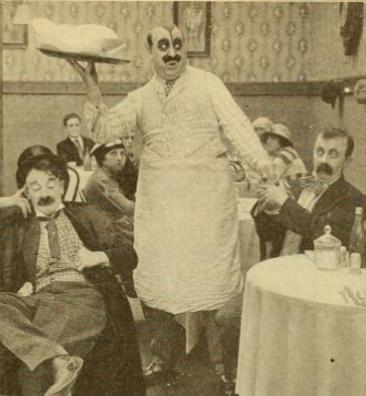 Keystone short 1910s Mack Swain, Chester Conklin, and Jack Cooper