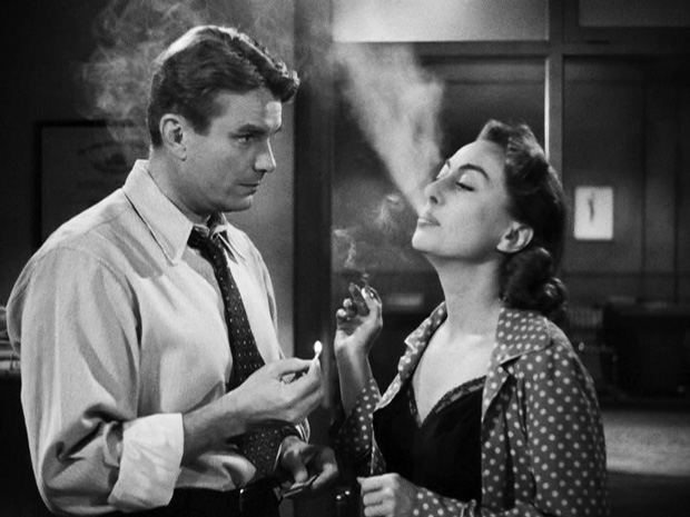 Kent Smith & Joan Crawford in The Damned Don't Cry! (1950)