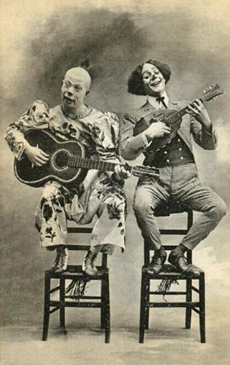 Vaudeville Clown Makeup
