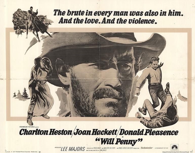 Will Penny (1967) Lobby Card