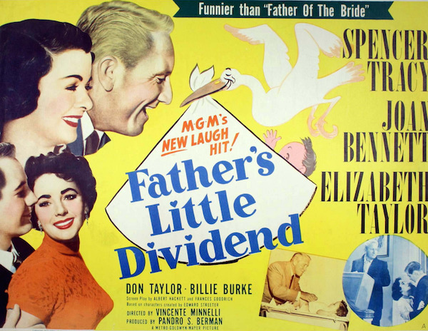 fathers little dividend poster