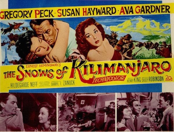 snows of kilimanjaro poster
