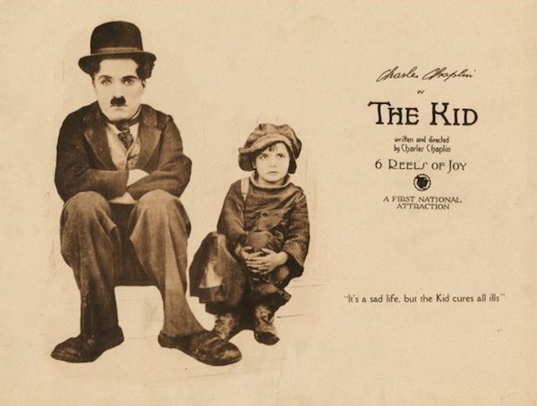 the kid 1921 poster