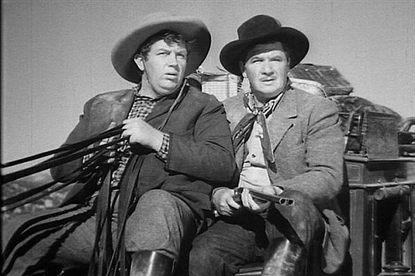 Stagecoach (1939) Andy Devine, George Bancroft