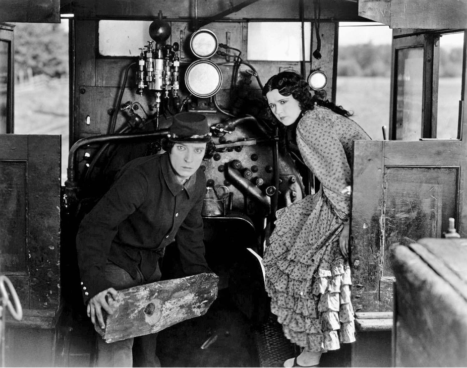 Buster Keaton and Marion Mack The General (1926)