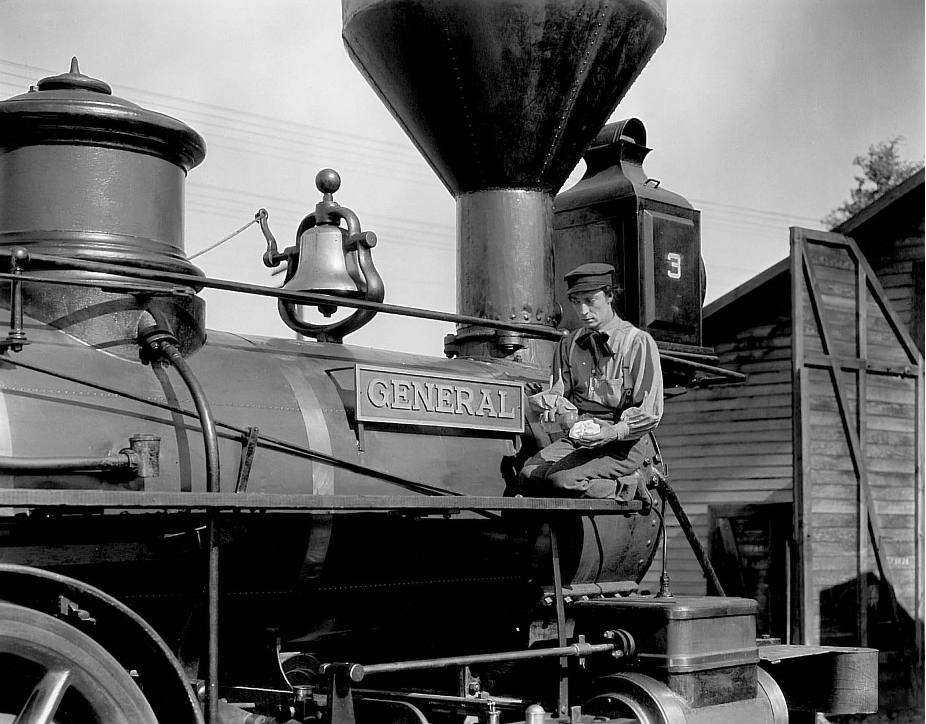 Buster Keaton The General (1926) General Locomotive