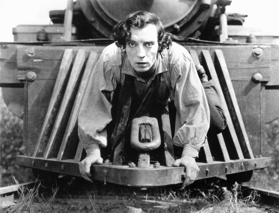 Buster Keaton in The General (1926)