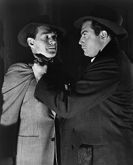 Douglas Fowley & Raymond Burr in Desperate (1947)